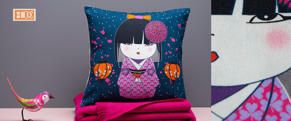 Edo coussin - Hiver 2014 - Home1