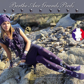 Chaussettes Berthe grands pieds- Hiver 2014 - I8