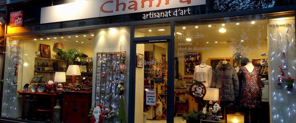 Champa Paris - Page d'accueil - Hiver 2014
