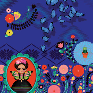 Anatopik Frida - motif printemps été 2015
