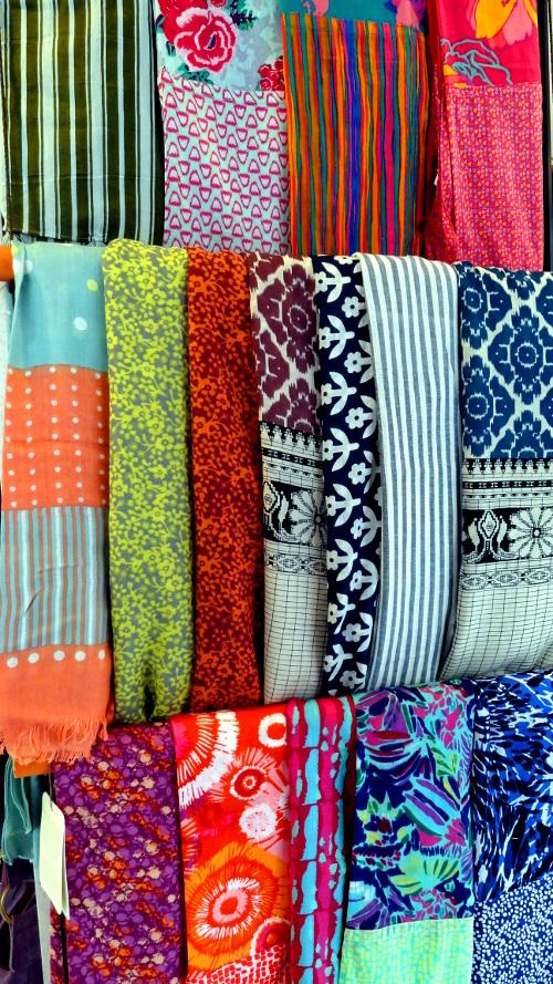 accessoires de mode - étole en soie ou coton