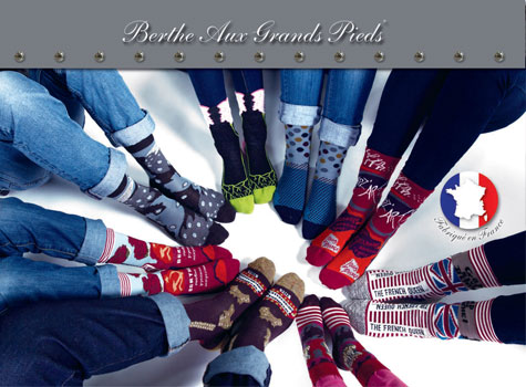Chaussettes Berthe aux grands pieds